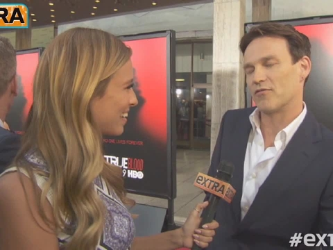 Stephen Moyer on Twins: They're Doing What Babies Do