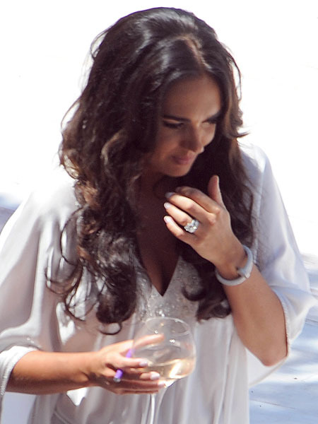 Extra Scoop Tamara Ecclestone Celebrates Nuptials In French Riviera Style Extratv