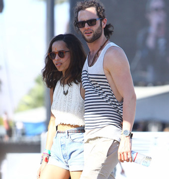 Zoe Kravitz and Penn Badgley Call it Quits