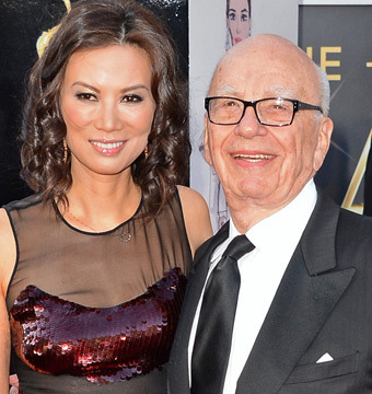 Report: Media Mogul Rupert Murdoch Files for Divorce