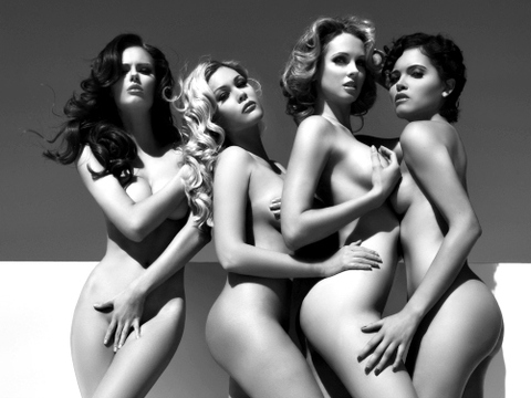 Naked Beauty Queens: Former Miss USA Winners Strip Down for PETA
