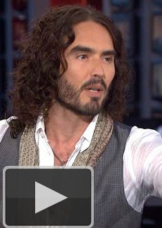 Video! Russell Brand Points Out 'Morning' Show Faults