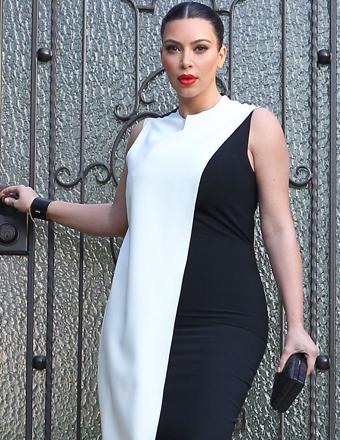 Kim Kardashian After-Baby Weight Loss Plan, Baby Name | ExtraTV.com