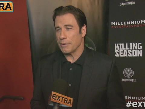 John Travolta on Death of Friend James Gandolfini
