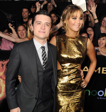 Josh Hutcherson: Kissing Jennifer Lawrence Causes 'Natural Stirrings'