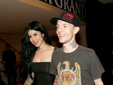 Kat Von D and Deadmau5 Split