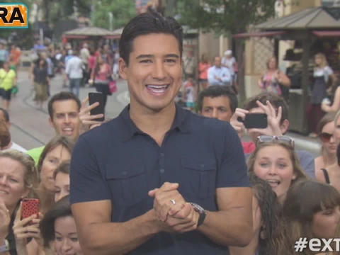 Video! Nicole Richie Shows Mario Lopez Her Signature Dance Move