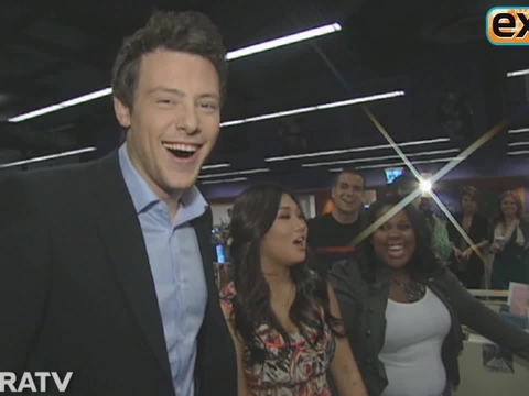 'Extra' Archive: Interviews with Cory Monteith