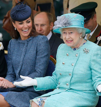 Queen Hopes Royal Baby Doesn't Interfere with Vacation Plans