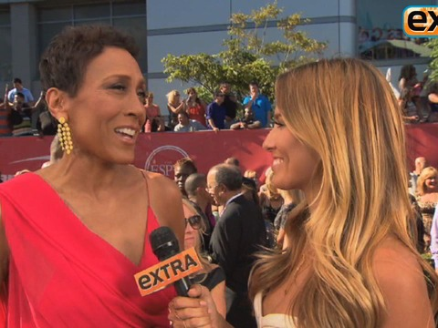 'Extra' Raw: On the Red Carpet at the 2013 ESPY Awards
