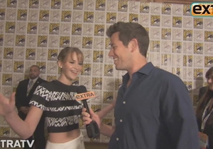 Comic-Con Madness! Jennifer Lawrence Videobombs Jeff Bridges