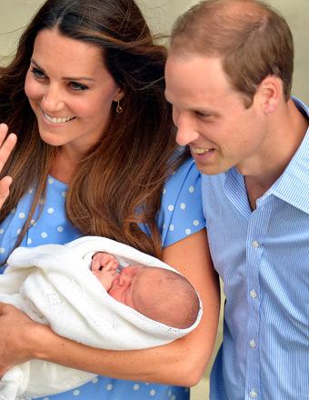 Royal Baby: Princess Kate and Prince William Enjoying