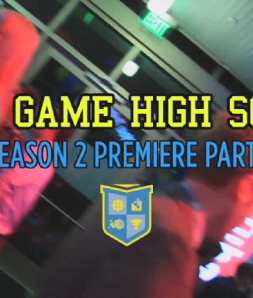 The Premiere of 'Video Game High School 2'