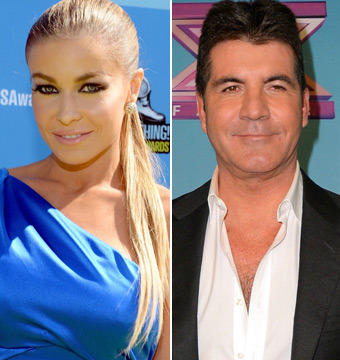 Carmen Electra: 'Simon Cowell Will Be a Fantastic Father'