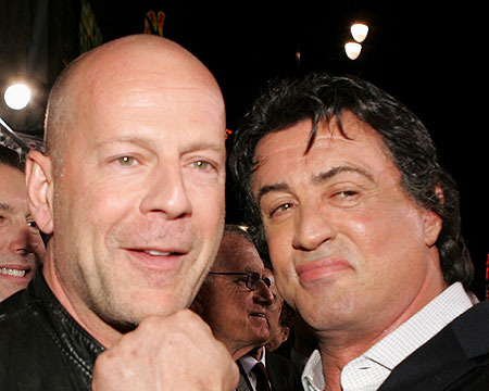 Ford Joins 'Expendables 3'; Stallone Disses Bruce Willis in Tweet