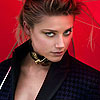 Amber Heard Deflects Questions About Johnny Depp [Elle Magazine]