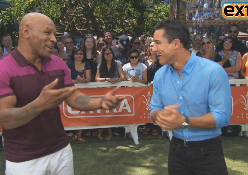 At The Grove! Mike Tyson on 'Being Mike Tyson'