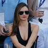 Miranda Kerr Goes Braless, Grabs Attention at US Open [Getty]