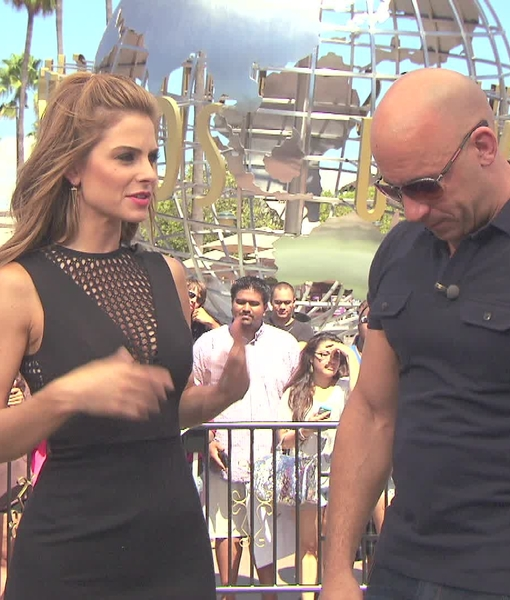 Vin Diesel on 'Fast & Furious 7' and 'Guardians of the Galaxy'