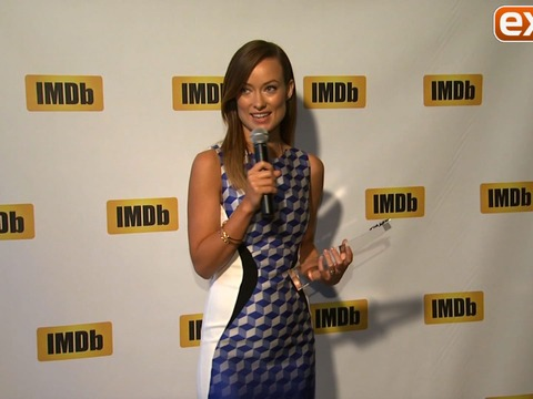 Video! Olivia Wilde Receives First IMDb STARmeter Award