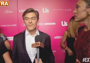At the Us Weekly Most Stylish New Yorkers Bash with Dr. Oz