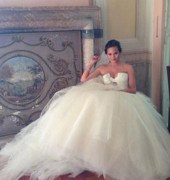 John Legend and Chrissy Teigen's Wedding: See Her Dress!