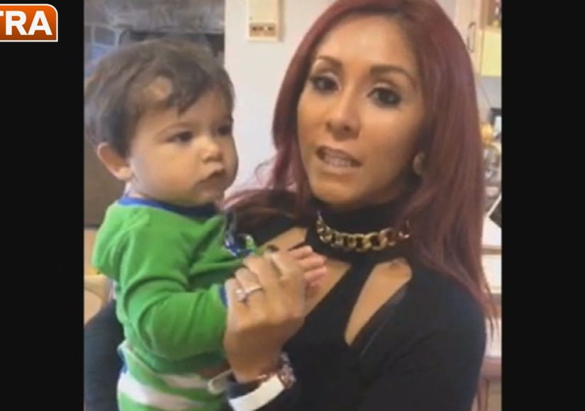 Snooki's Home Video with Son Lorenzo
