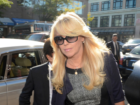 Dina Lohan Pleads Not Guilty of DWI, Leaves Court in Chauffeured Rolls-Royce!