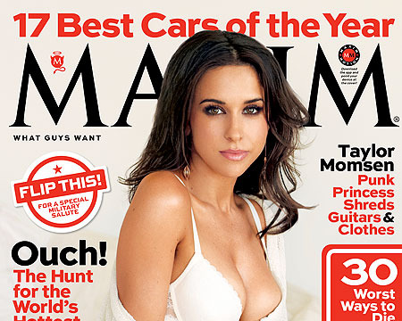 Lovely Lacey Chabert Lounges in Lacy Lingerie