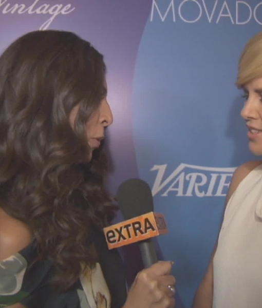At the Variety's Power of Women Event