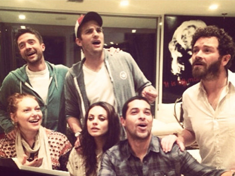 Pic! It's a 'That '70s Show' Reunion
