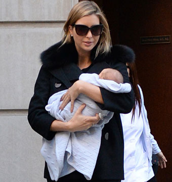 Ivanka Trump stepped out for a doctor visit with newborn baby, Joseph, in NYC.