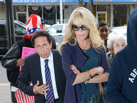 Dina Lohan's DWI: Lawyer Blames the Media for Stressing Her Out
