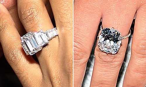 Ciara rivals kim kardashian with 15 carat engagement ring extratv ciara kim rings junglespirit Images