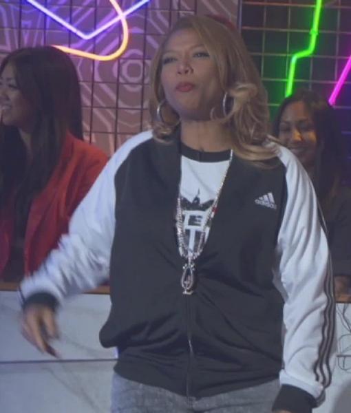 Video! Mario Lopez and Queen Latifah's '80s Dance Party