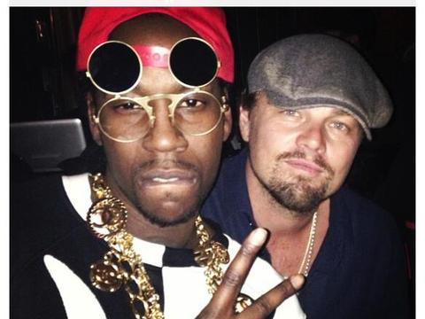 Happy Birthday, Leo! Kanye West and 2 Chainz Surprise Leonardo DiCaprio in NYC