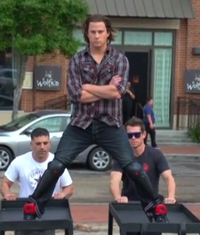 Video! Channing Tatum Goes All Jean-Claude Van Damme, Spoofs 'Epic Splits'