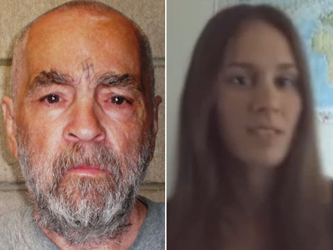 Beyond Creepy! Uncovered Video of Charles Manson's 25-Year-Old Fiancée
