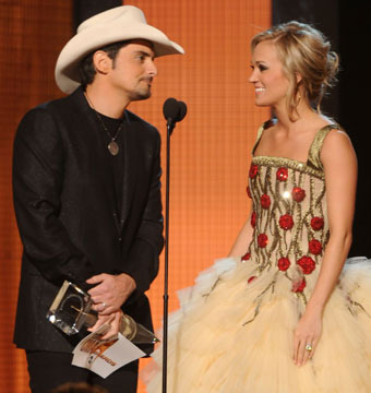 Brad Paisley's Wife Speaks Out About Carrie Underwood Affair Rumors
