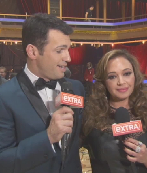 Leah Remini and 'DWTS' Partner Tony Dovolani Go Wild After Finale
