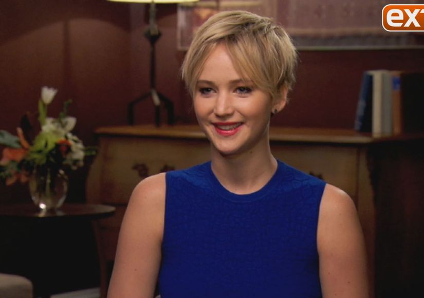 Jennifer Lawrence on the Origin of 'JLaw,' and Kissing Amy Adams in 'American…