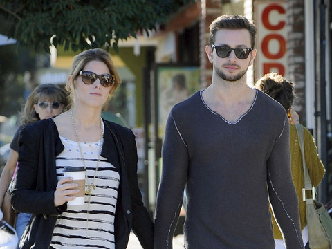 Ashley Greene and boyfriend Paul Khoury grabbed lunch in Burbank on Saturday.