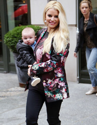 jessica simpson reveals weight loss secrets after baby no