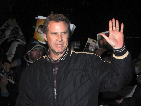 "Will Ferrell stopped by ""The Daily Show with Jon Stewart"" in NYC."