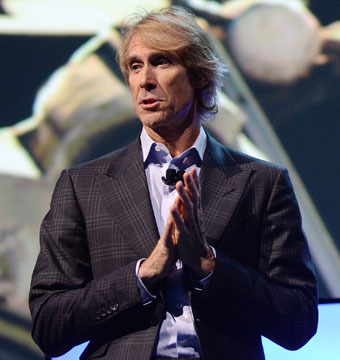 Watch Michael Bay's Meltdown over Teleprompter Malfunction