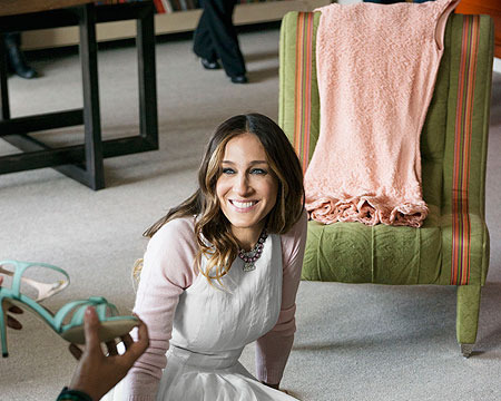 Sarah Jessica Parker Shares New Shoe Collection with O Magazine