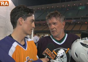 L.A. Celebs Shoot to Thrill at NHL Media Game
