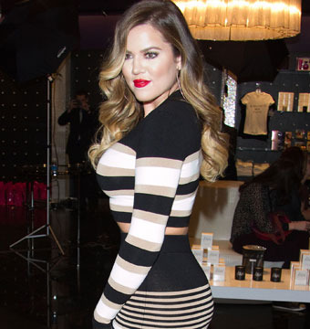 Khloe Kardashian made an appearance at the Kardashian Khaos store at the Mirage…