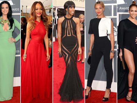 Fashion Flashback! Grammy Awards 2013