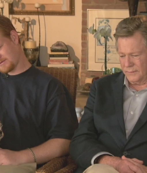 Ryan and Redmond O'Neal on Losing Farrah Fawcett and Winning Warhol Portrait…